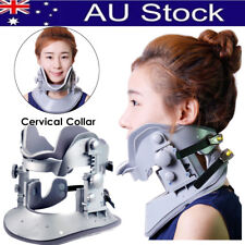 Neck Pain Cervical Collar Traction Device Brace Support Rlease Therapy Strap AU