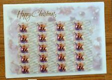 1999 Australia Personal Greetings Stamps Happy Christmas Sheet of 20 Mnh/Og