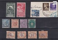 ITALY MIXED EARLY STAMPS ON STOCK CARD  REF R 2582