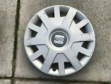 "SEAT IBIZA WHEEL TRIM 15"" X 1 GENUINE 6J0601147B"