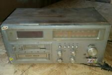 vintage radio 8-track and cassette an alarm Rhapsoby