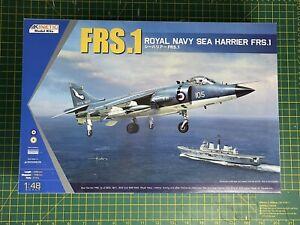 Kinetic 1/48 Royal Navy BAe Sea Harrier FRS.1 #48035 Plastic Model Kit Falklands