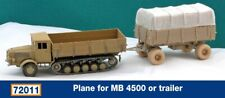 Schatton Modellbau 1/72 Cover for MB 4500 or Trailer # 72011