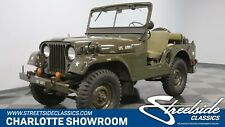 1955 Willys M38A1 Military Jeep 4x4