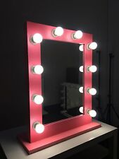 Glitter PINK - Hollywood Makeup Mirror with lights, Vanity Make Up Beauty Mirror