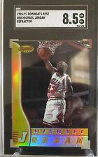 1996-97 Bowman's Best #80 Michael Jordan REFRACTOR SGC 8.5 NM MT+ Low Pop Count