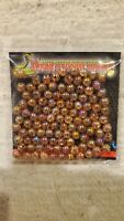"""Fly Fishing Tying Material Viper Tackle Marble Brown Beads 3/16"""" (XJ1)"""