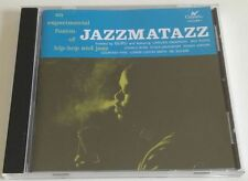 JAZZMATAZZ AN EXPERIMENTAL FUSION OF HIP HOP AND JAZZ VOLUME 1 CD COMPILATION