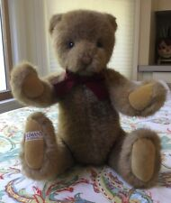 Vintage 1987 Gund Limited Edition For B.Altman's Plush Teddy Bear with Tags, 15�