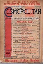 1903 Cosmopolitan August - Rose O'Neill; Guggenheim; H G Wells; Klondike;