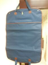 Deluxe Polo Ralph Lauren Comfort Garment (Gentleman ) Bag Blue