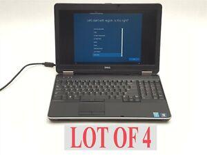 """Dell Latitude E6540 15.6"""" FHD i5 4310M 2.70GHZ 4GB 500GB Laptop Win 10 Lot 4"""