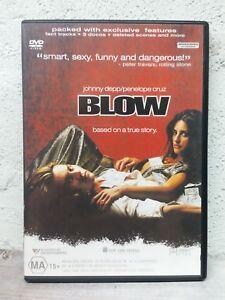 Blow DVD 2001 - Johnny Depp Movie - Region 4