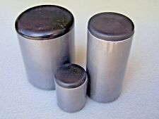 """Plastic Insert Plugs and Caps the end of 7/8"""" Round Tube 14-20 gage wall/ 4 PAK"""