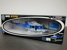 HELICOPTER BELL 412 NYPD POLICE DIE CAST 1/48 BY NEW RAY 25533