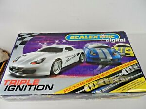 Hornby Triple Ignition Scalextric Digital Track Set  I5