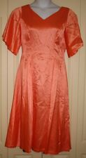 Vintage 80's Peach Party Dress