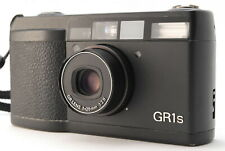 【EXC+++++ LCD Works】 Ricoh GR1S Black 35mm Film Camera Body only from JAPAN 836