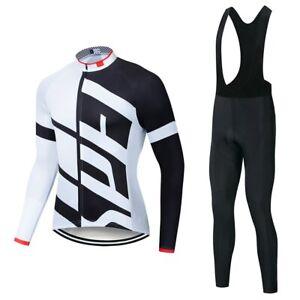 Specializeding long sleeve Cycling jersey Set bib pants ropa ciclismo