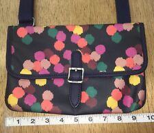Fossil Crossbody Purse Handbag Circles Polka Dots LN