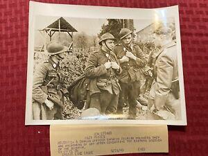 """1940 WWII Original ACME News Photo """"Nazi Prizes"""" 5/21/1940 WW2"""