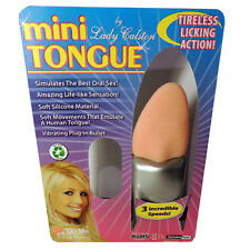 Love me Tender and Tireless - mini Tongue Clitoral Vibrator by Lady Galston