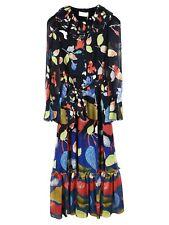 Peter Pilotto Printed Georgette Long Dress