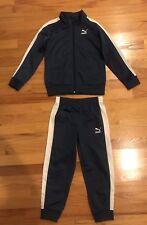 Puma Athletic Boys 2 Pc Set Jacket Pants Size 6 Nwt Msrp $52.00