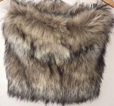 Femme Beige/noir mix moelleux écharpe taille unique ASOS < NH8355