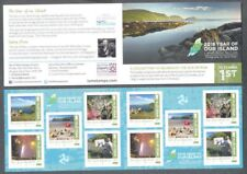 Isle of Man-Island Year 2018 mnh booklet(issue date 10.04.2018)self-adhesive