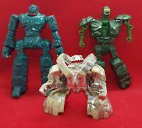 1986 Bandai/Tonka GOBOTS ROCK LORDS SLIMESTONE/TOMBSTONE/STONEHEART Transformers