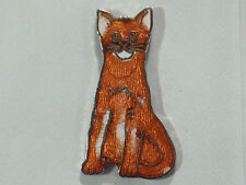 Vintage Abyssinian Cat Cloisonne Pin (lg) (Choice of one) See both pictures