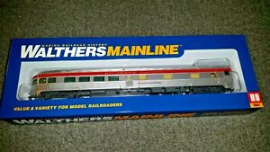 Walthers HO Scale 85' Budd Southern Pacific Observation NIB