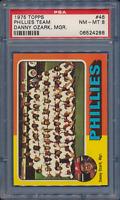 1975 Topps ⚾ PSA 7 8 8.5 Graded Singles Lot Break - Choose cards to complete