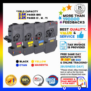 4x Generic TK-5234 Toner Cartridge for Kyocera M5521CDN M5521CDW P5021CDN