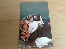 """""""THE GENTLE ART OF MAKING LOVE"""" ~ TUCK Photochrome Series No 151 Postcard."""