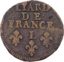 O2835 RARE R2 Liard de France Louis XIV 1698 L Bayonne ->Make offer