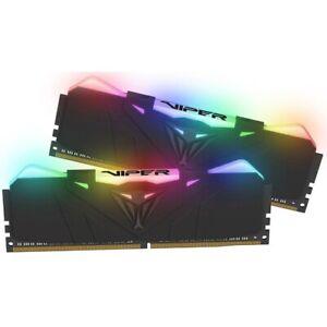 VIPER Viper RGB Series DDR4 16GB (2 x 8GB) 4000MHz Kit w/Black Heatshield