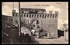 Siena : Porta Romana con Filovia per Valli - non viaggiata, primi 900