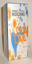 MOSCHINO I LOVE LOVE CHEAP AND CHIC PERFUME EDT 1 FL OZ SPRAY 30 ML WOMEN NIB