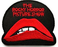 Rocky Horror Picture Show Embroidered Lips Applique Patch Iron On Cosplay