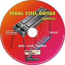 Pedal Steel Guitar - Country Sample Cd /Loops-Riffs-Licks-Chords Wav