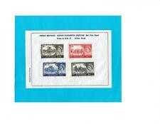 Four Great Britain Stamps, Queen Elizabeth Castles