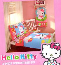 Hello Kitty 4-Pc Toddler Bedding set