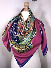 Designer Inspired Scarf Pashmina Pink Multi Soft Feel Glamorous Oversized NEW