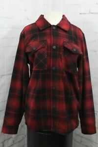 ThirtyTwo Drifter Polar Fleece Reversible Jacket, Men's Small, Black / Red New