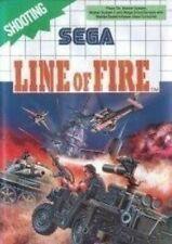SEGA Master System Spiel - Line of Fire mit OVP