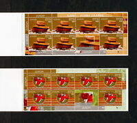 (YRAB 340) Belarus 2005 MNH Bread, vegetables Mi 593 -4 Sc 555a 556a Booklet set