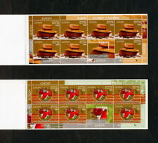 (YRAB 340) Belarus 2005 MNH Bread, vegetables Mi 593 -4 Sc 555a 556a Booklet set