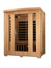 Dynamic Symphony 3 Person Low EMF Far Infrared Sauna 8 Carbon Heaters NEW!